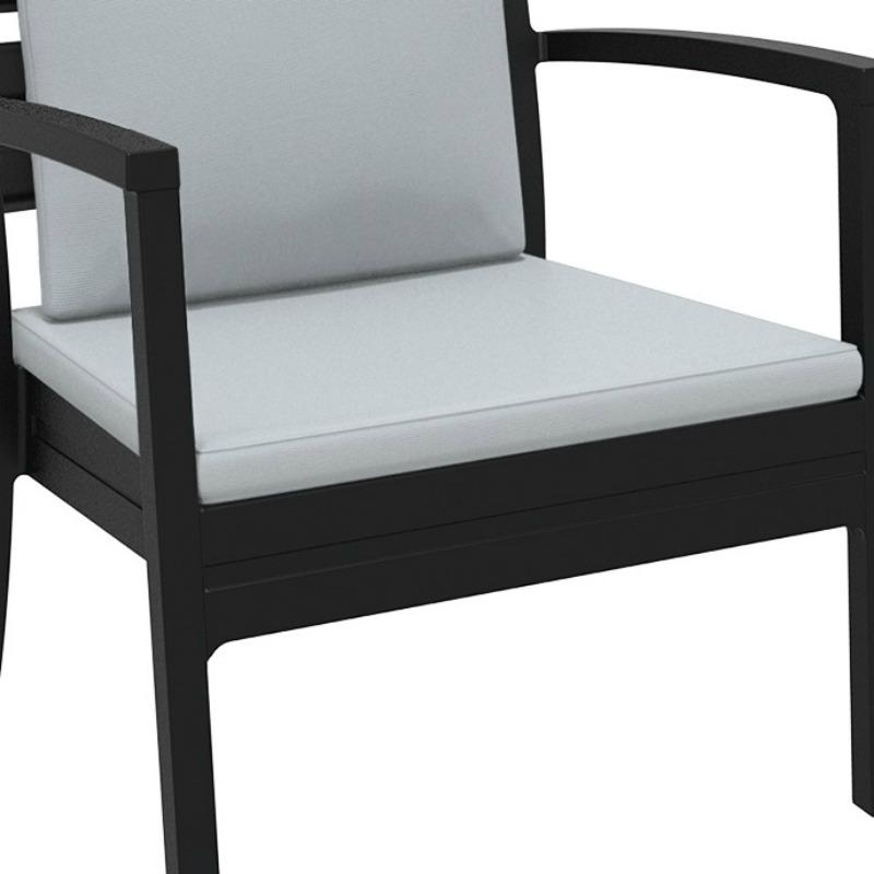 Artemis XL Lounge Armchair Seat Cushion Light Grey