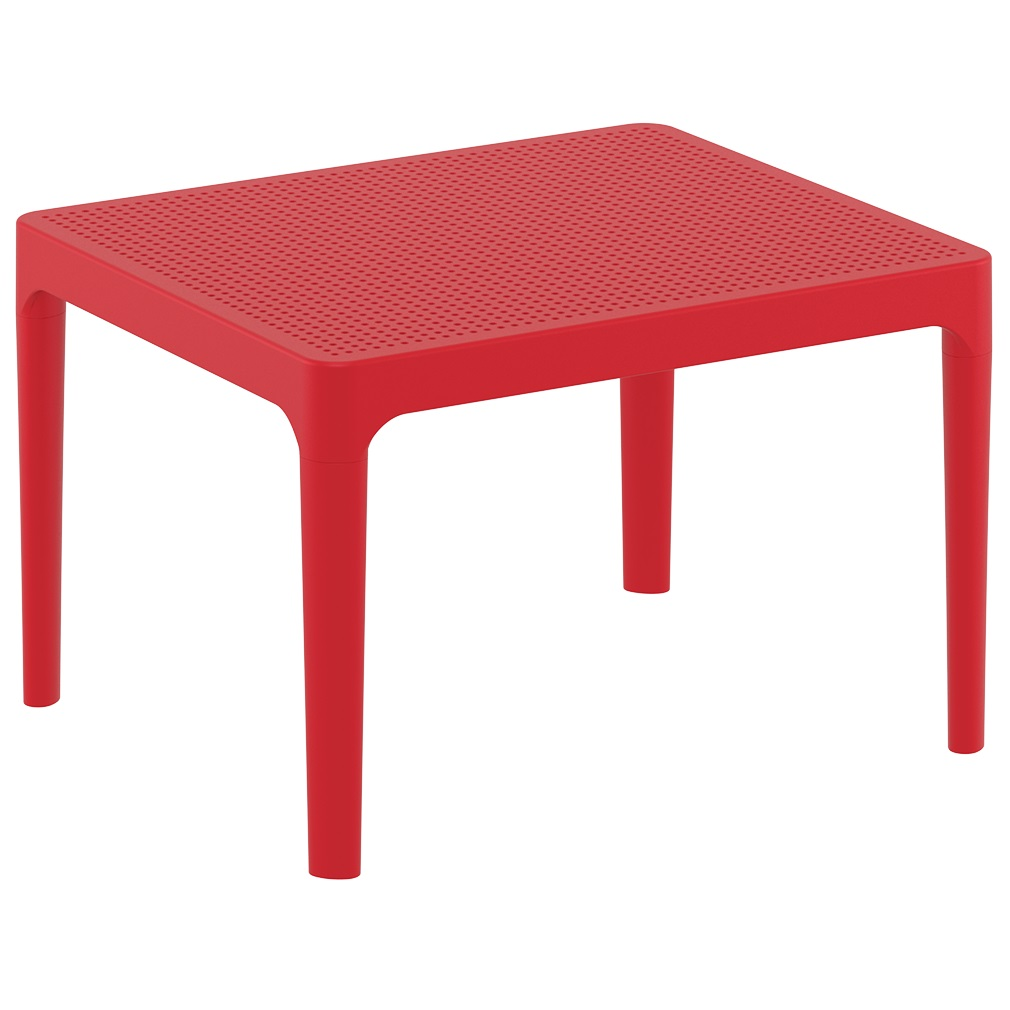 Sky Side Table - Red