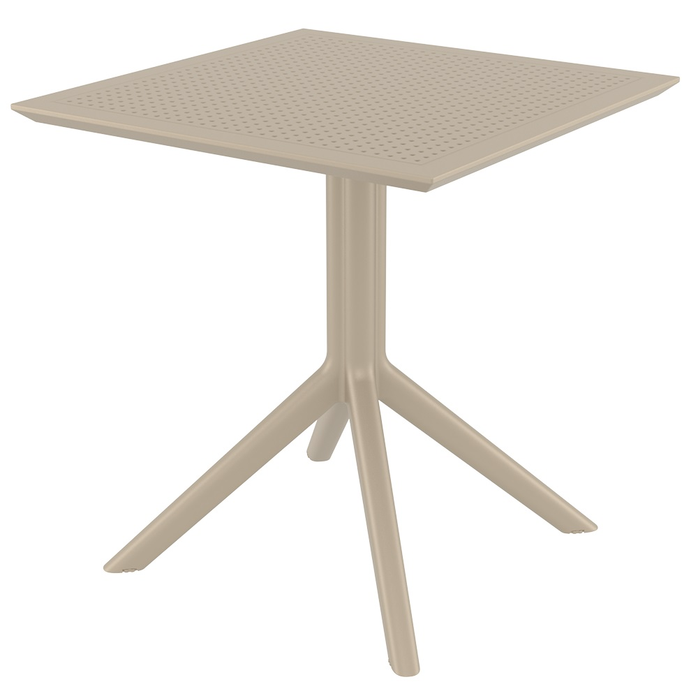 Sky Table 70 - Taupe