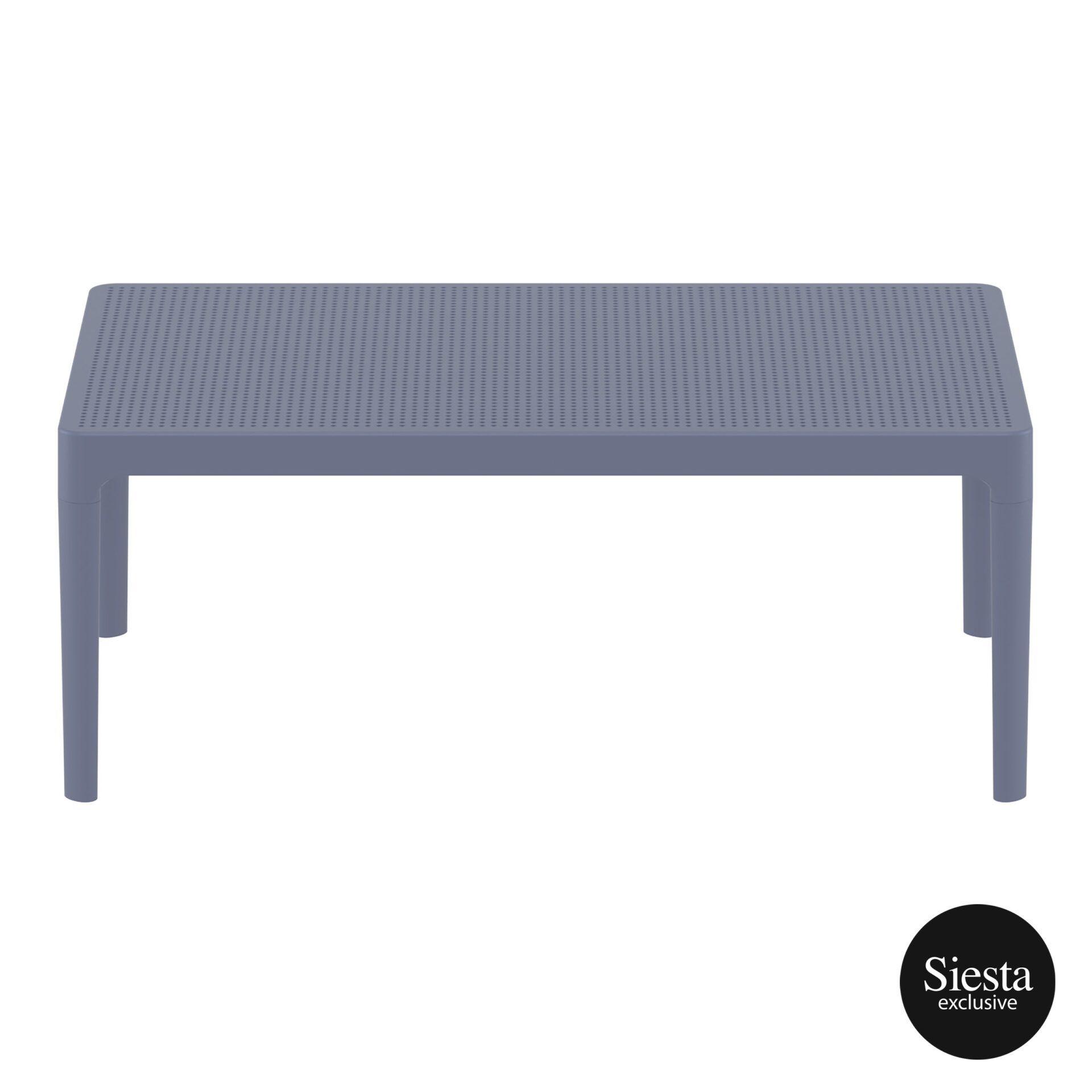 polypropylene outdoor sky lounge coffee table darkgrey long edge 1