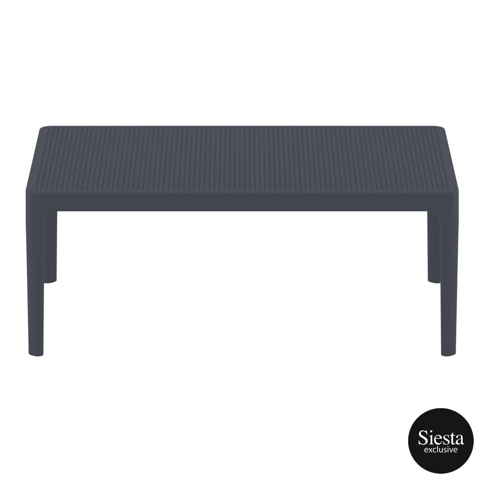 polypropylene outdoor sky lounge coffee table darkgrey long edge 2