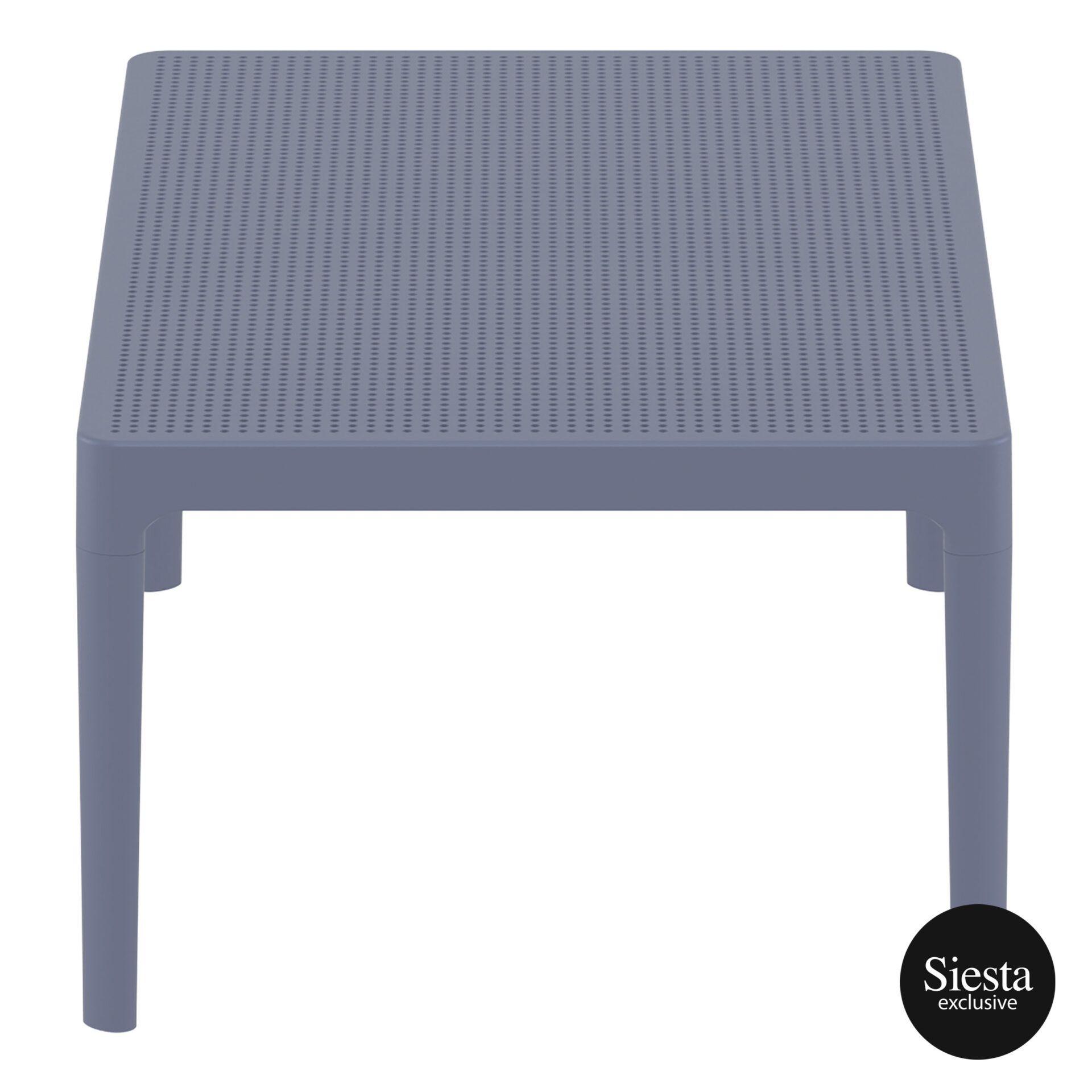 polypropylene outdoor sky lounge coffee table darkgrey short edge 1