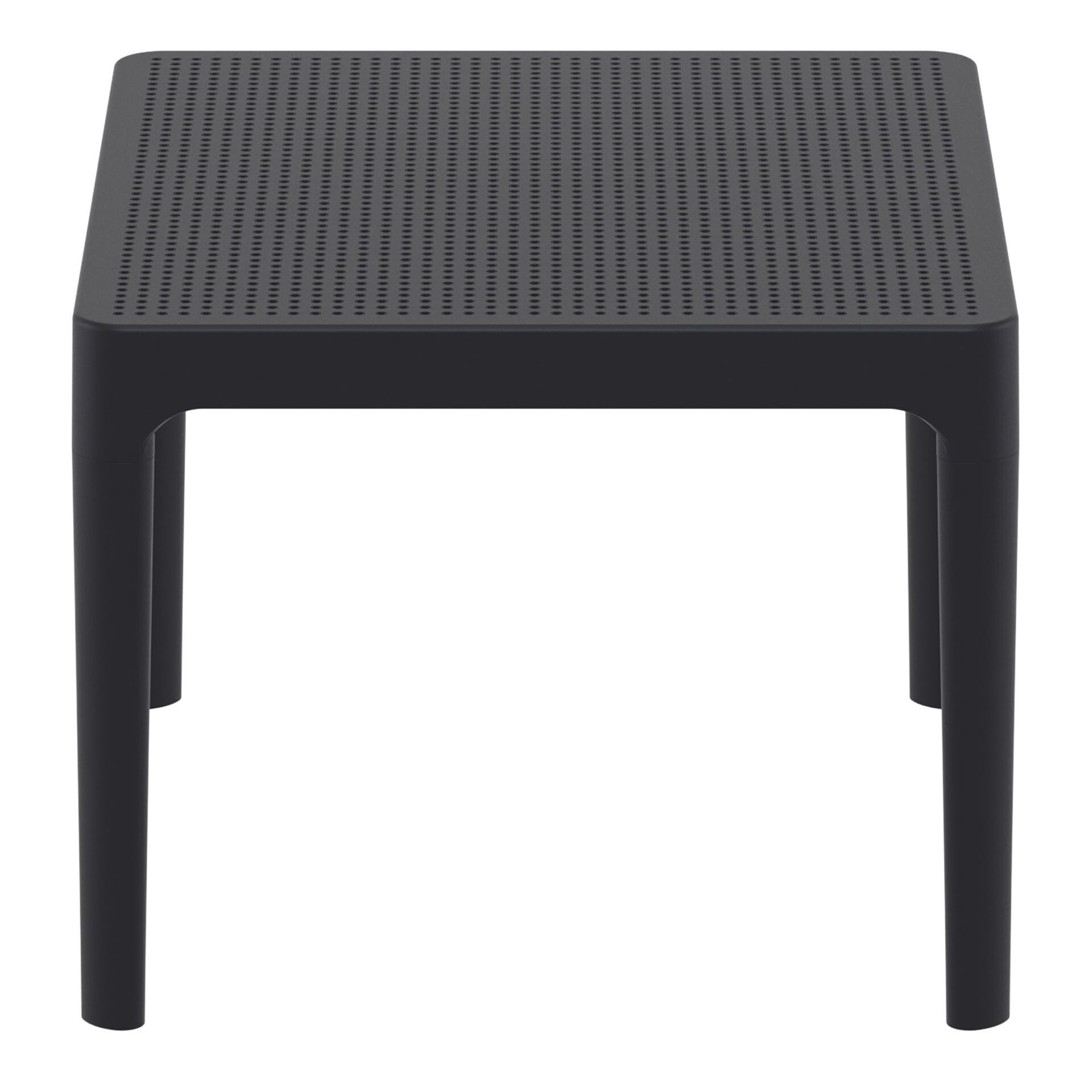 polypropylene outdoor sky side table black short edge