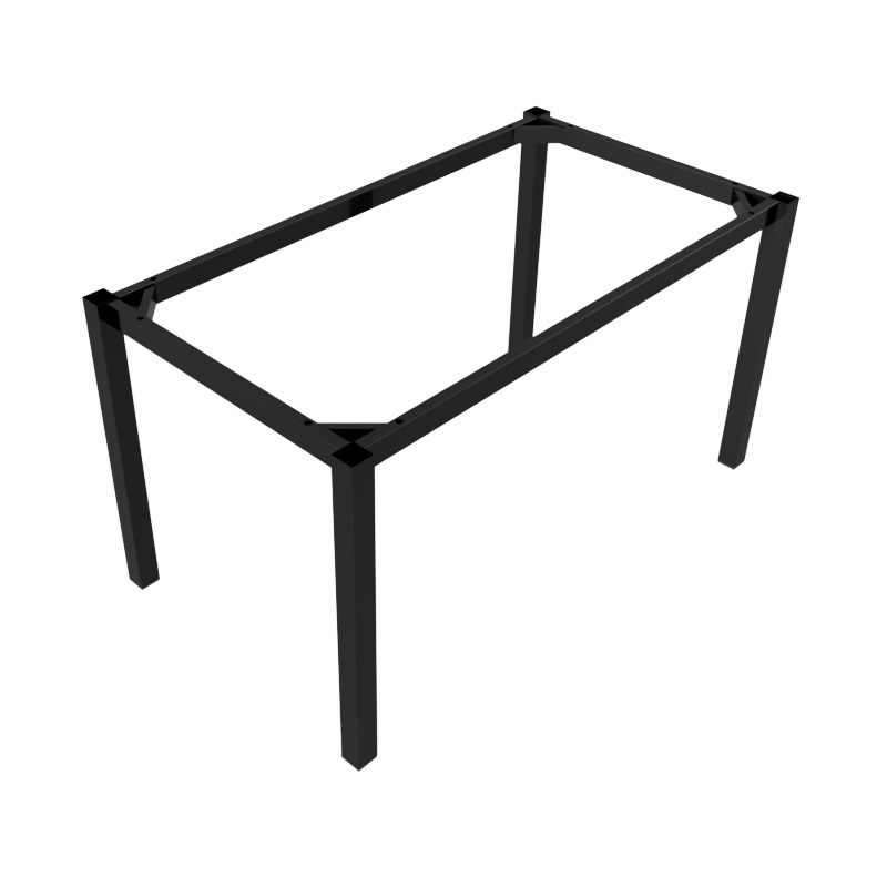 Preston Table Black Rectangle