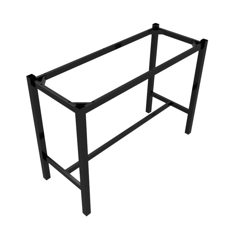 Preston Table Dry Bar Black Rectangle