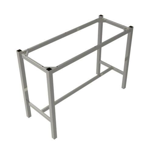 Preston Table Dry Bar Silver Rectangle