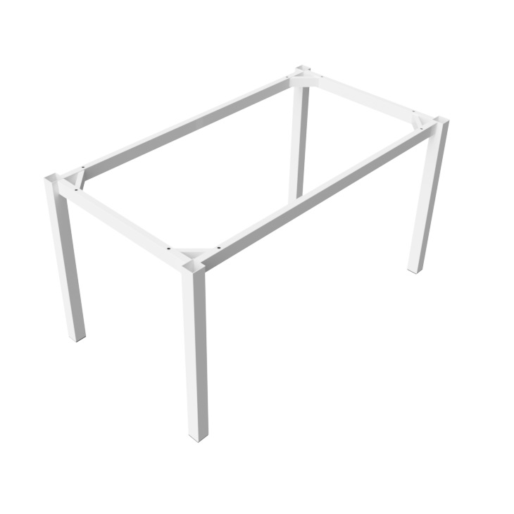 Preston Table White Rectangle