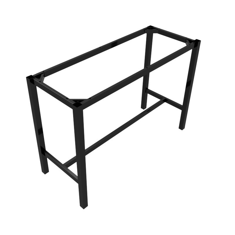 preston table dry bar black rectangle