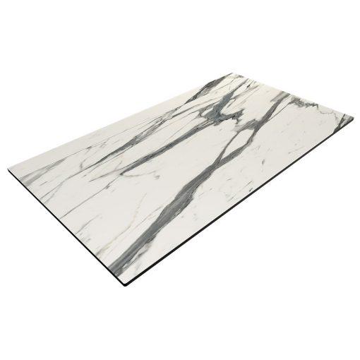 Compact Laminate Top Rectangle Afyon Marble