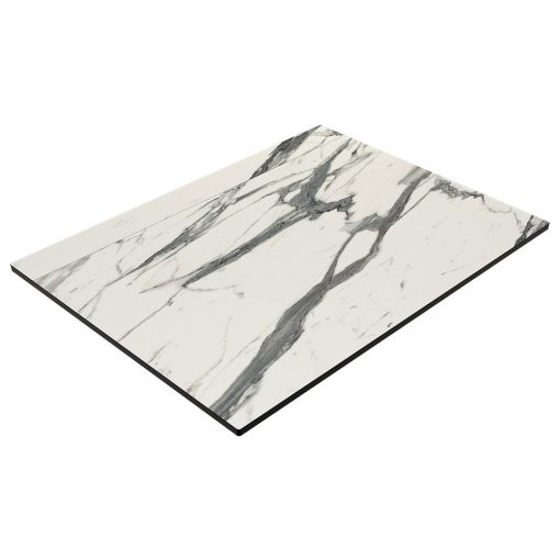 Compact Laminate Table Top - Afyon Marble 600x800mm