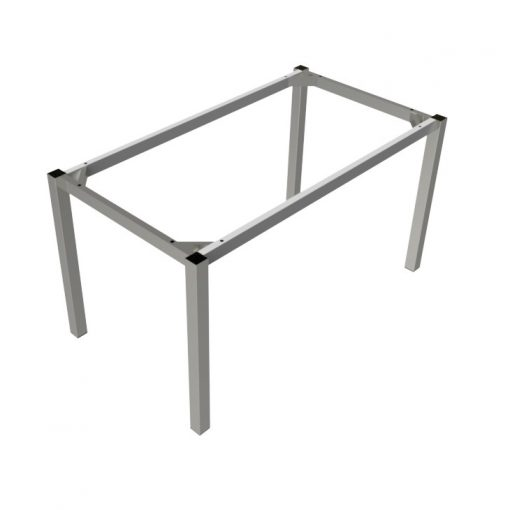 preston table silver rectangle