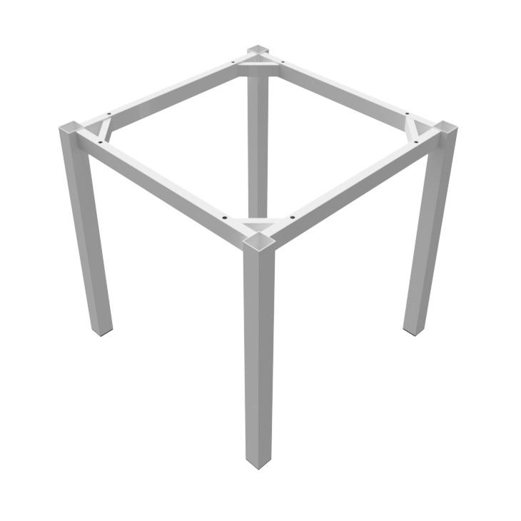 preston table white square