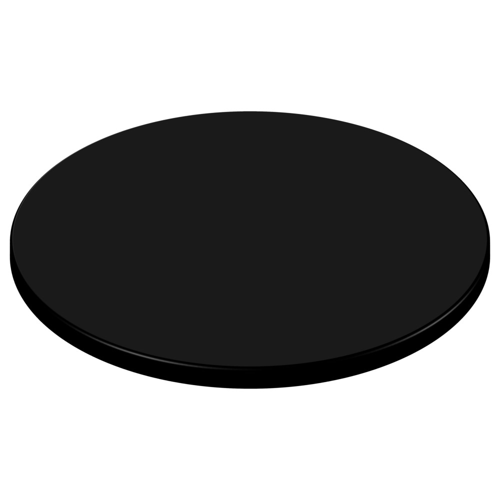 sm france round table top black