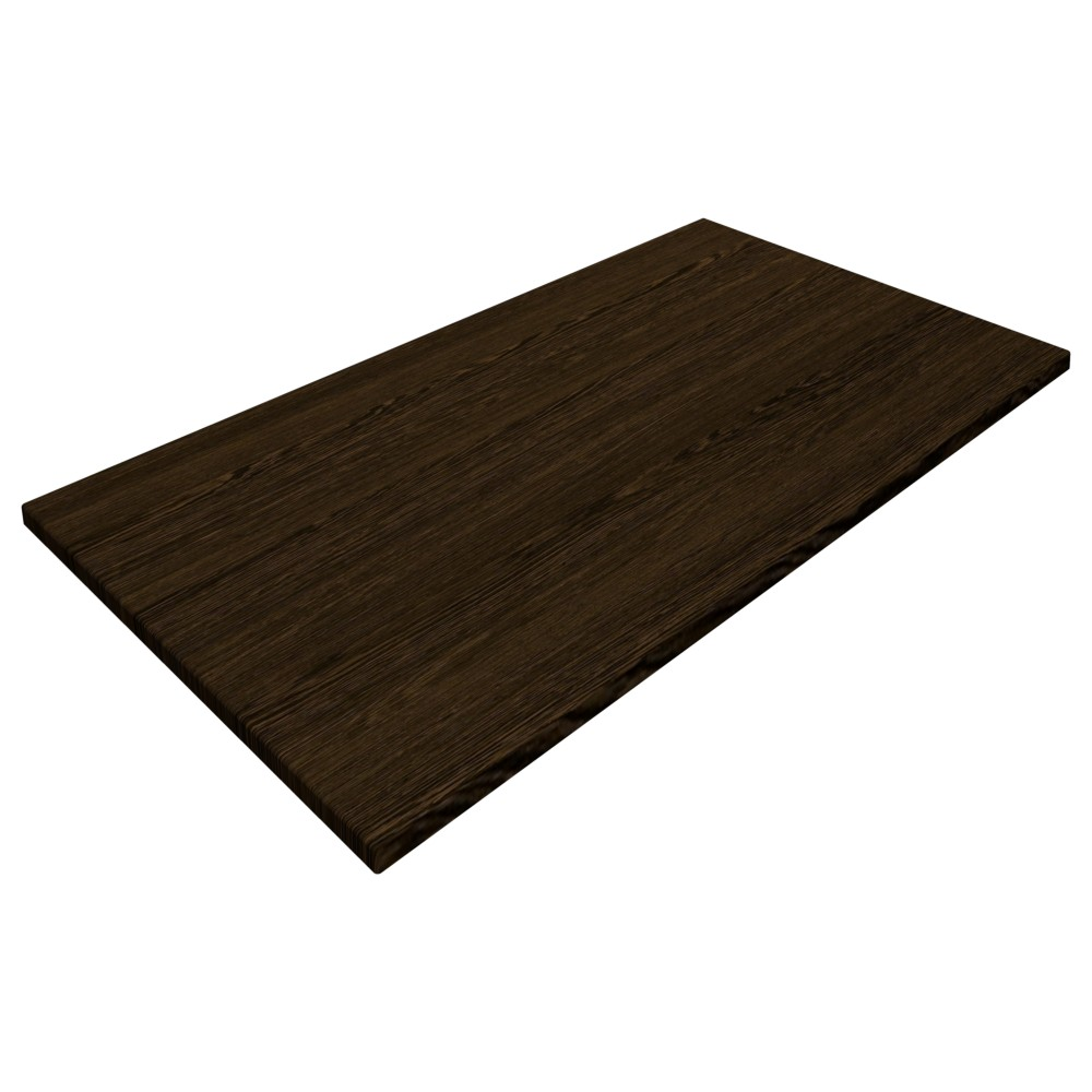 sm france rectangle table top wenge