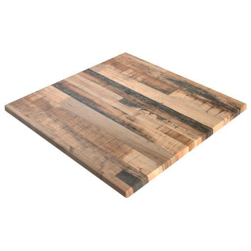 sm france square table top rustic kansas