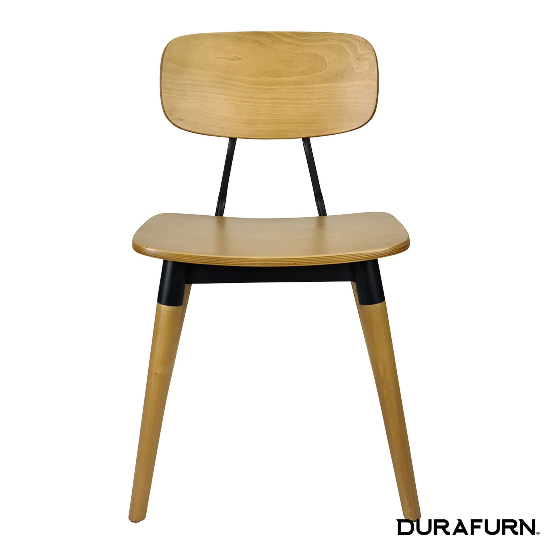 felix chair natural black front