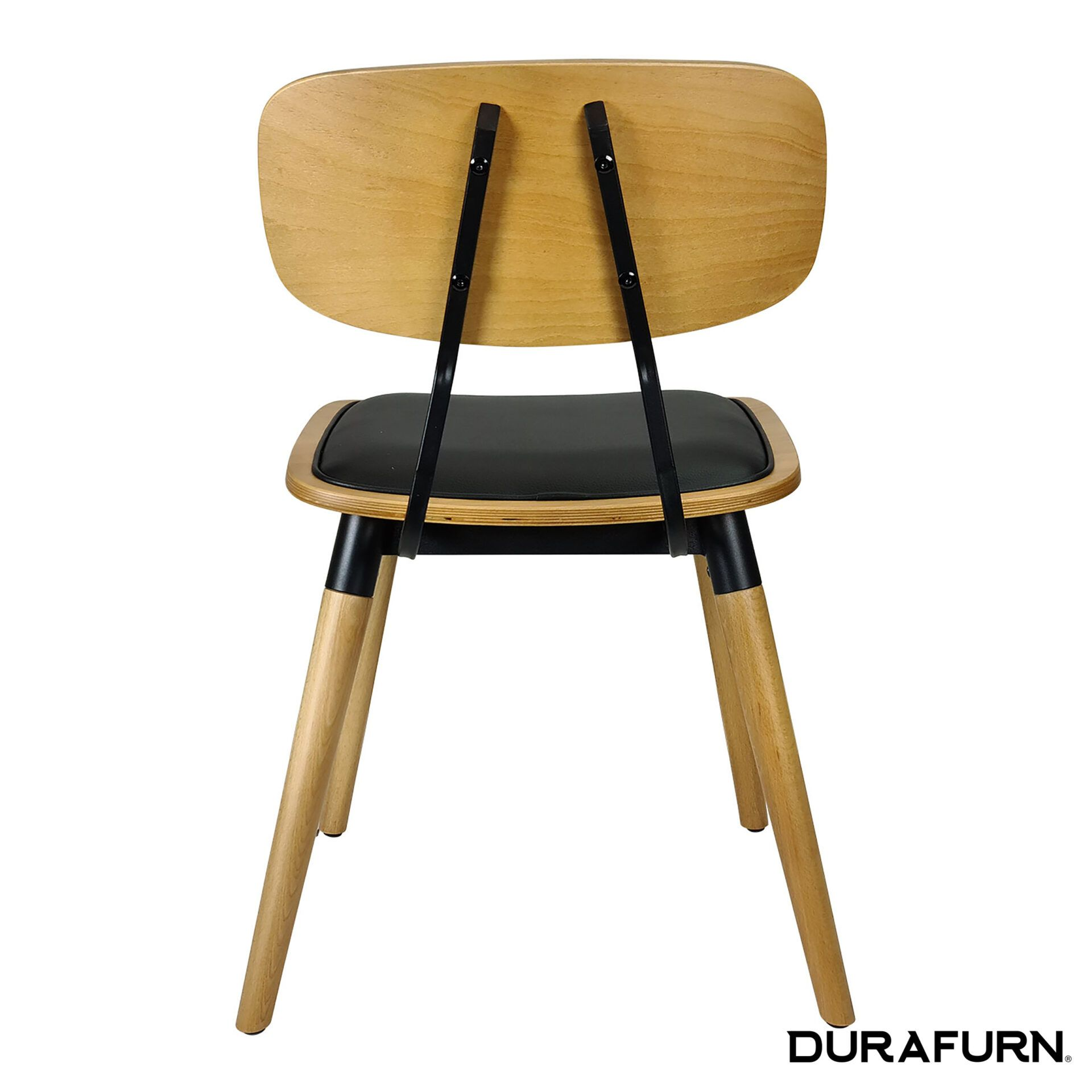 felix chair natural black uph back