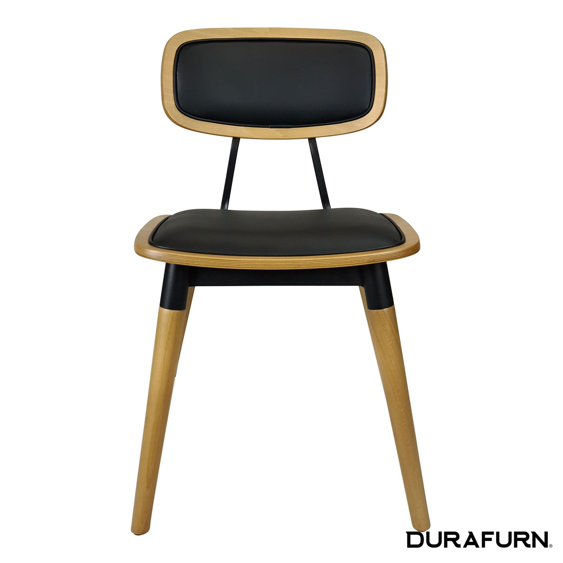 felix chair natural black uph front