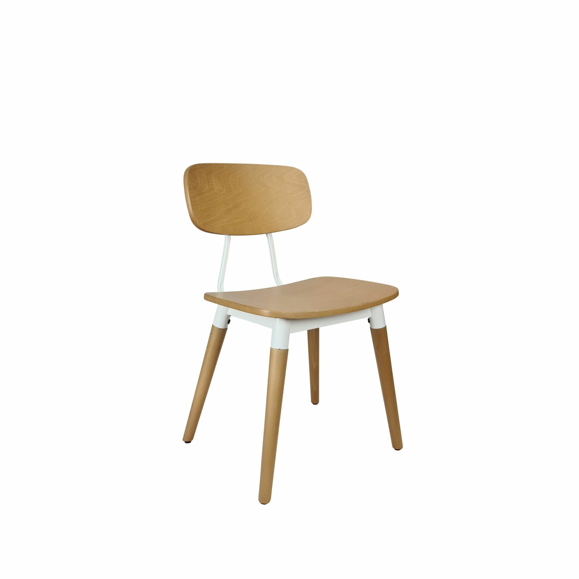 felix chair natural white.front side