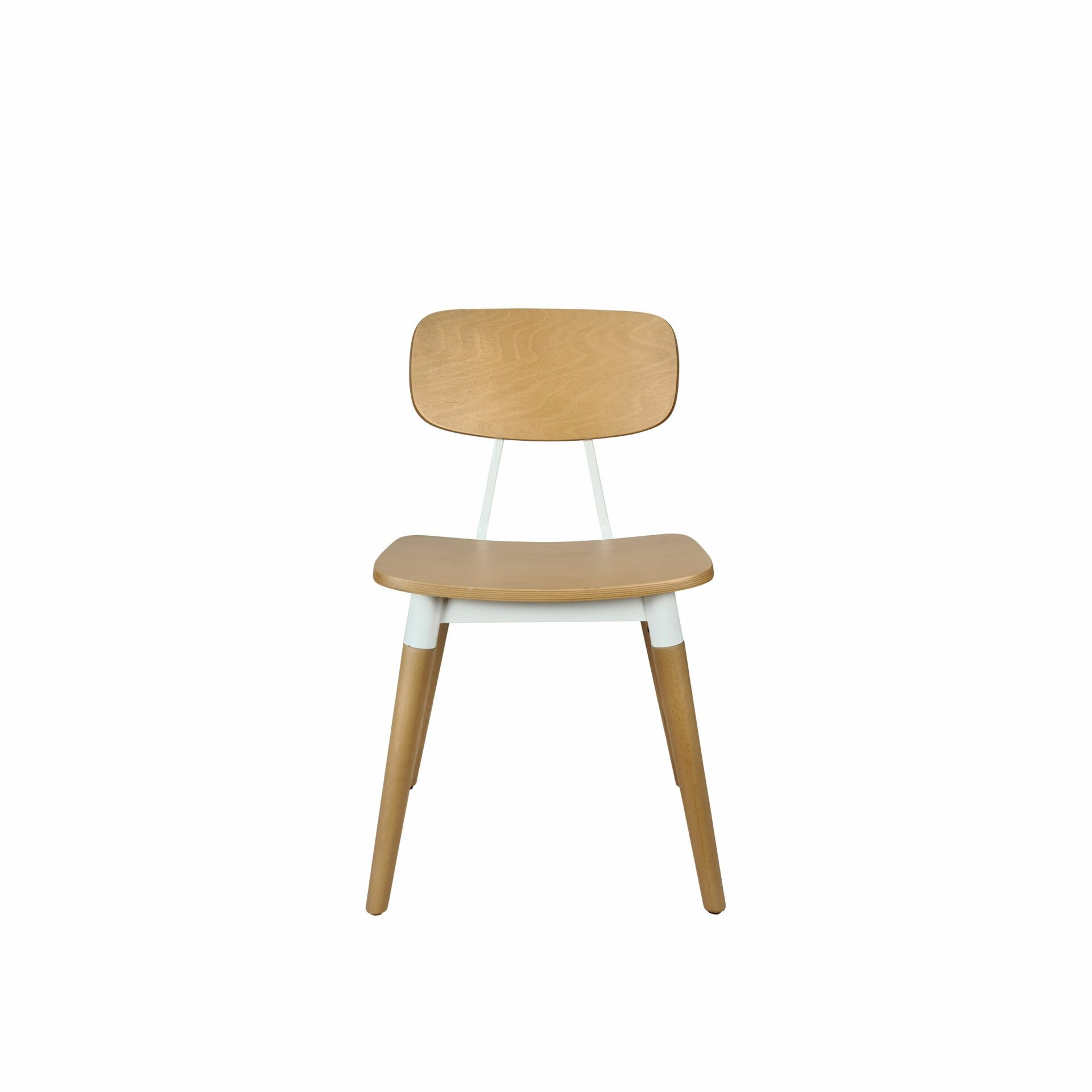 felix chair natural white.front