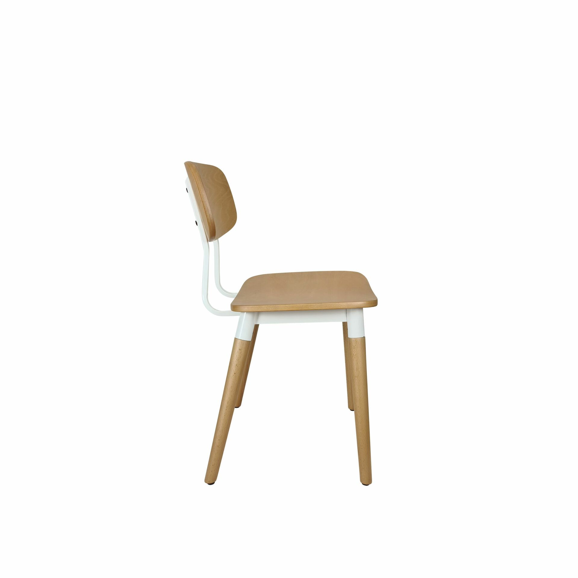 felix chair natural white.side
