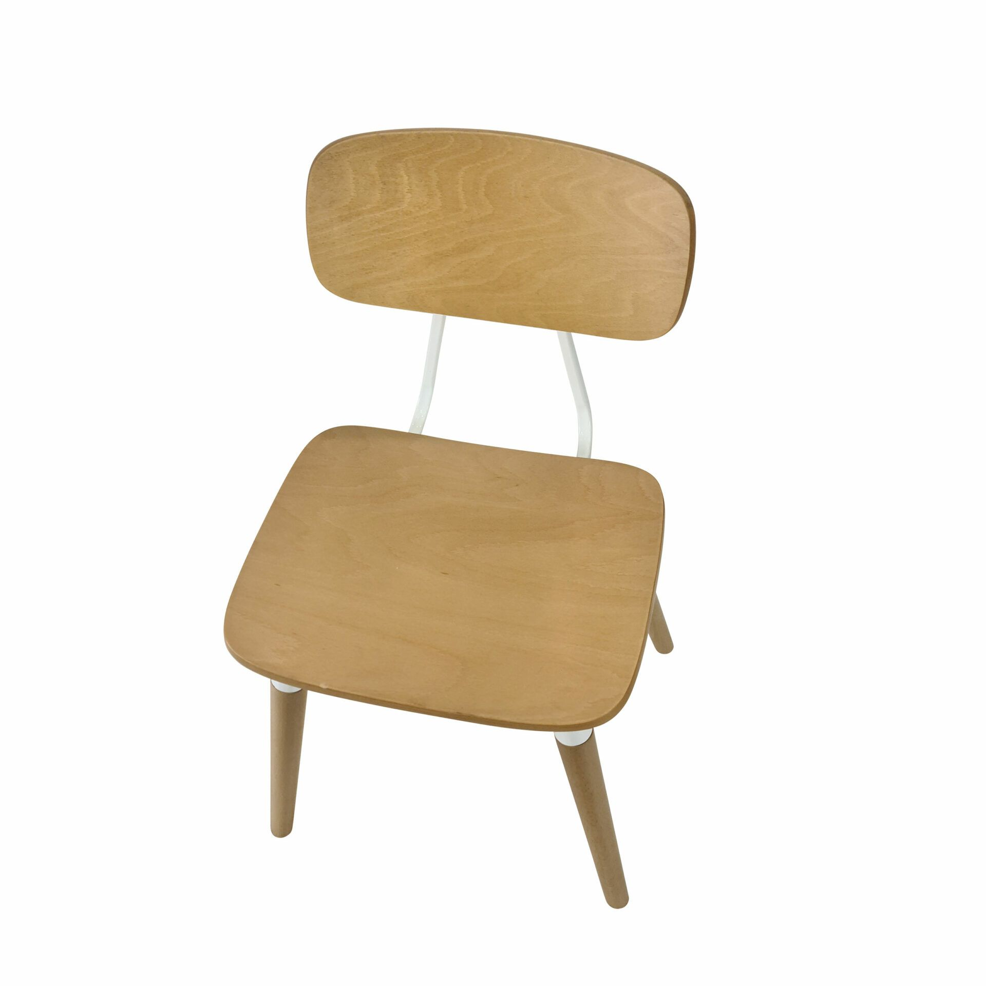 felix chair natural white.top angle