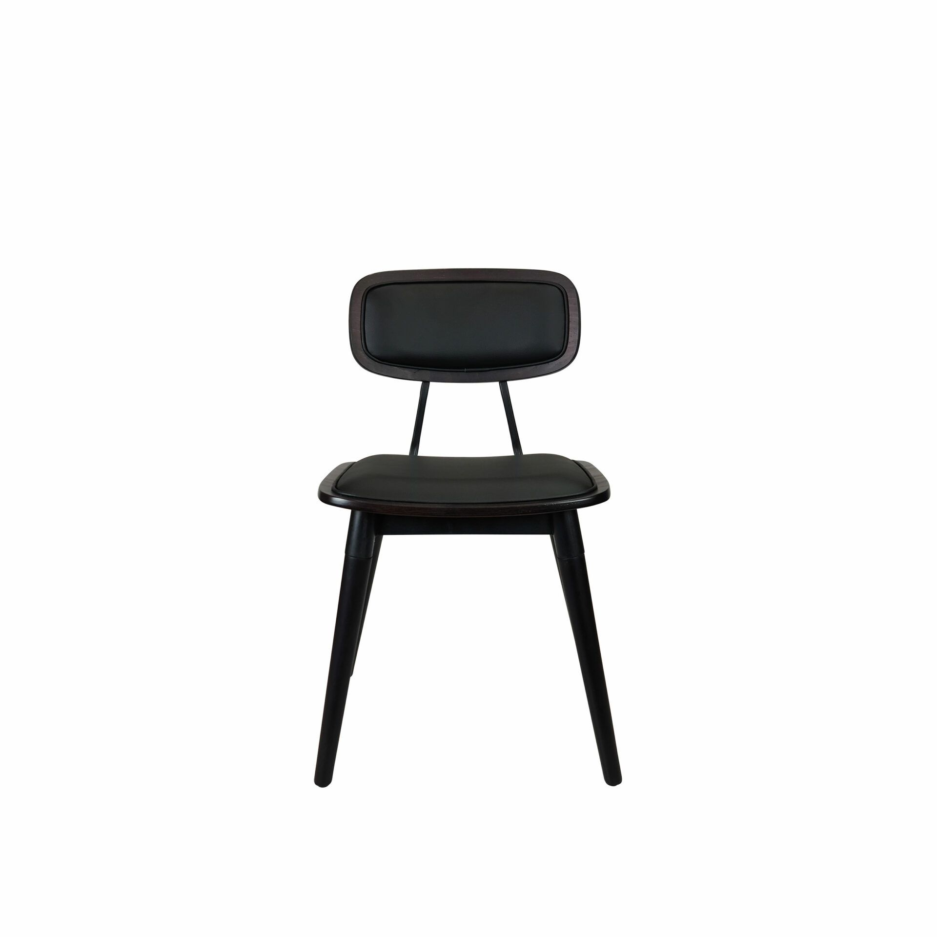 felix chair wenge.cushioned front