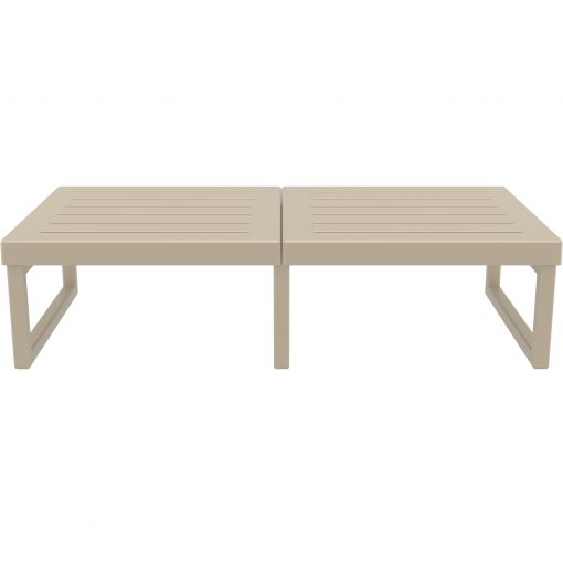 004 ml table xl taupe front