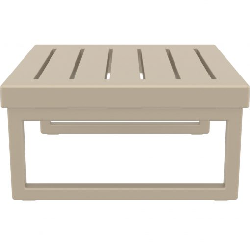 006 ml table taupe side