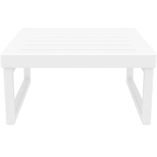 007 ml table white front