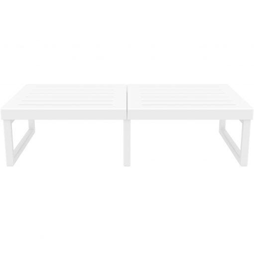 007 ml table xl white front