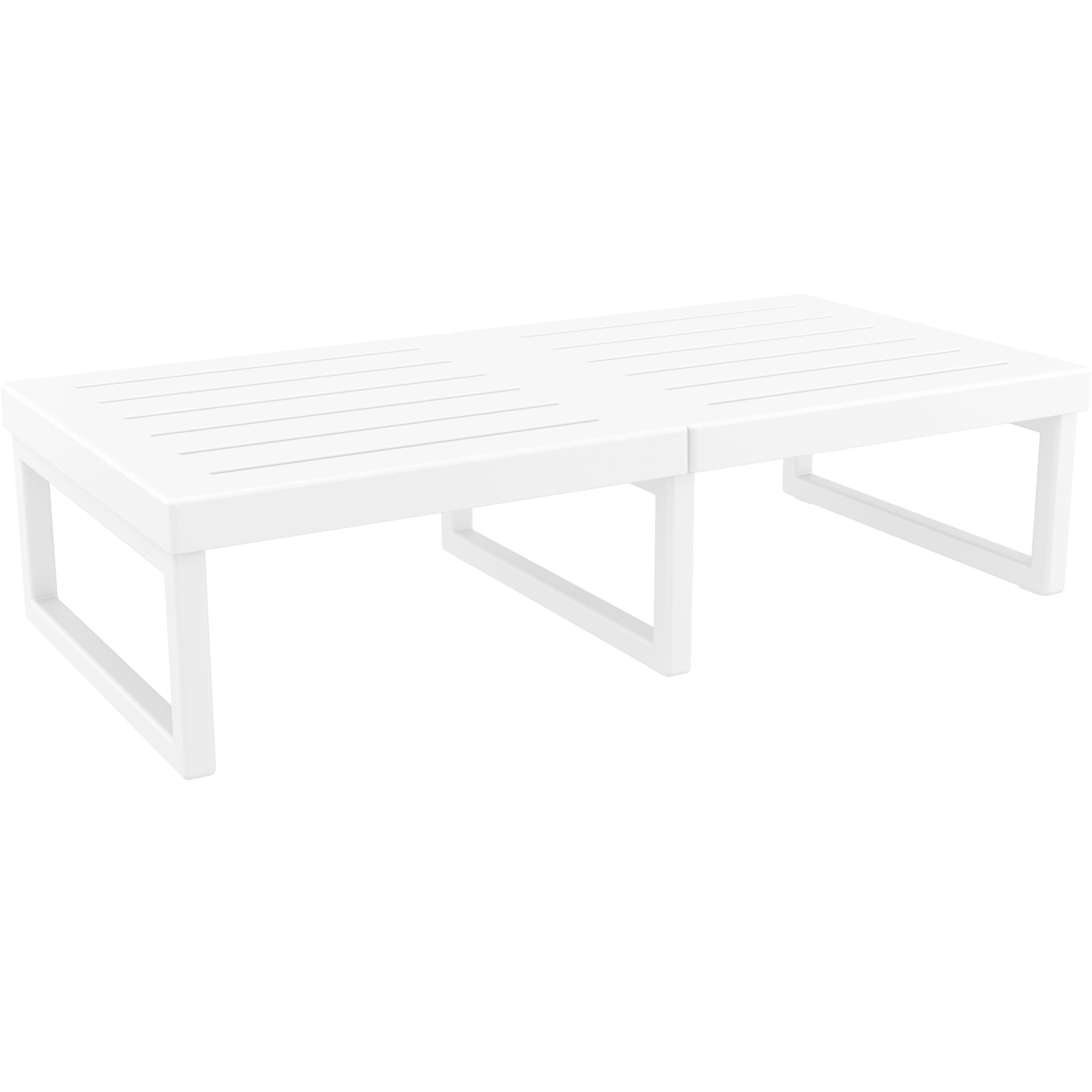 008 ml table xl white front side
