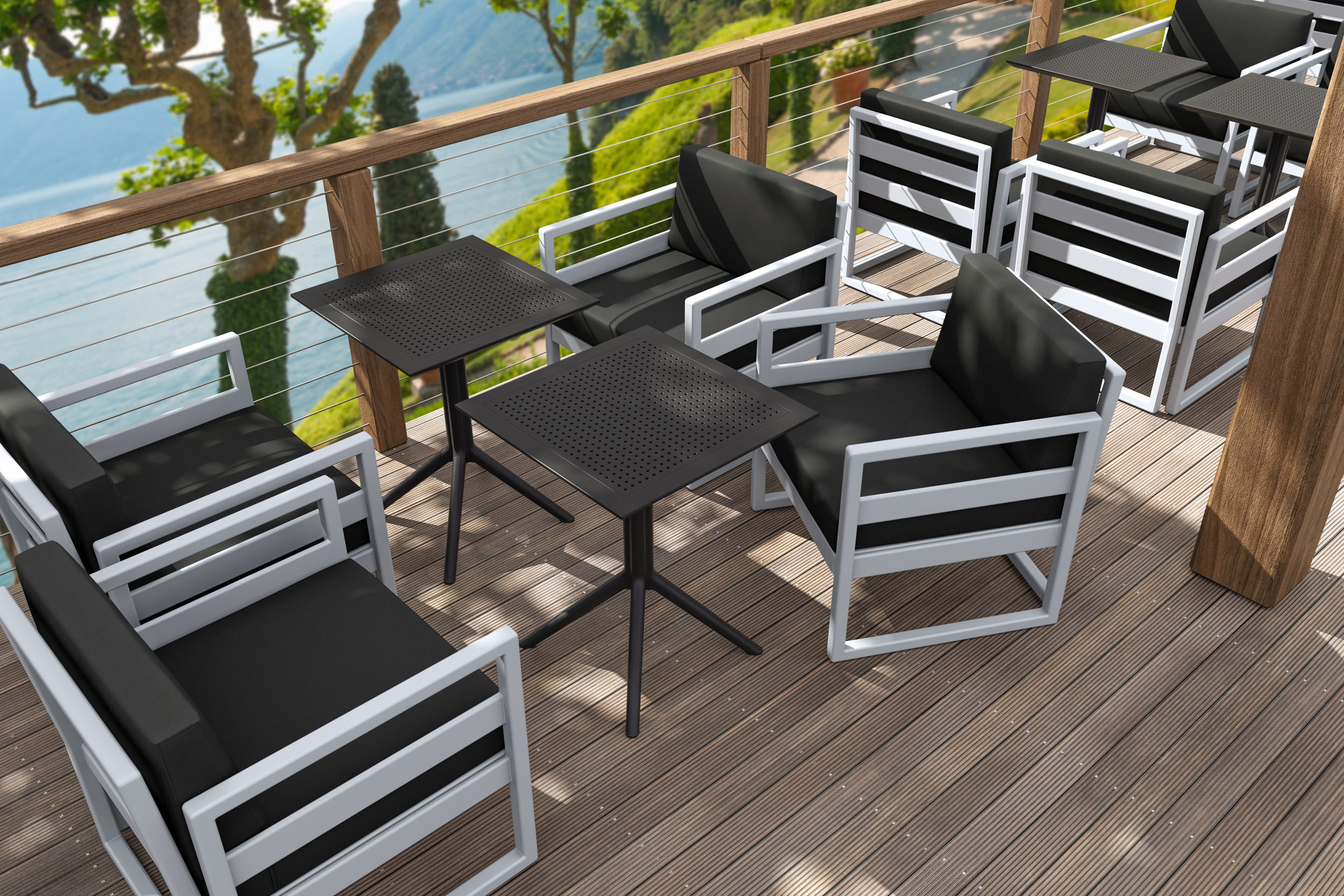 01 772 ml armchair sky folding table 60