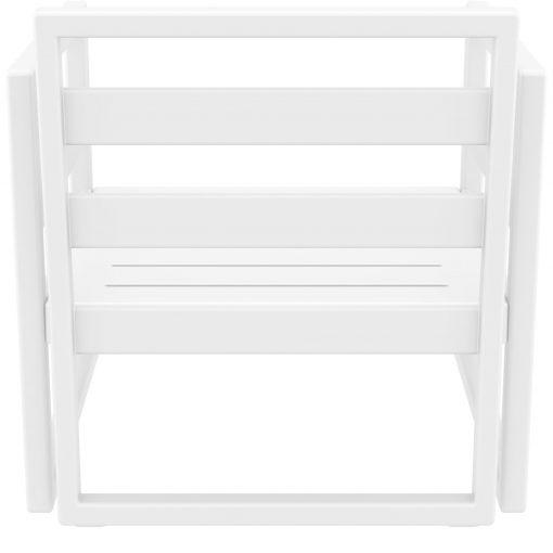 036 ml armchair white back