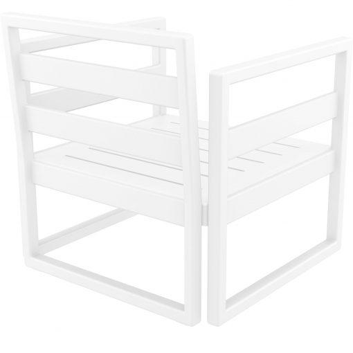 037 ml armchair white back side