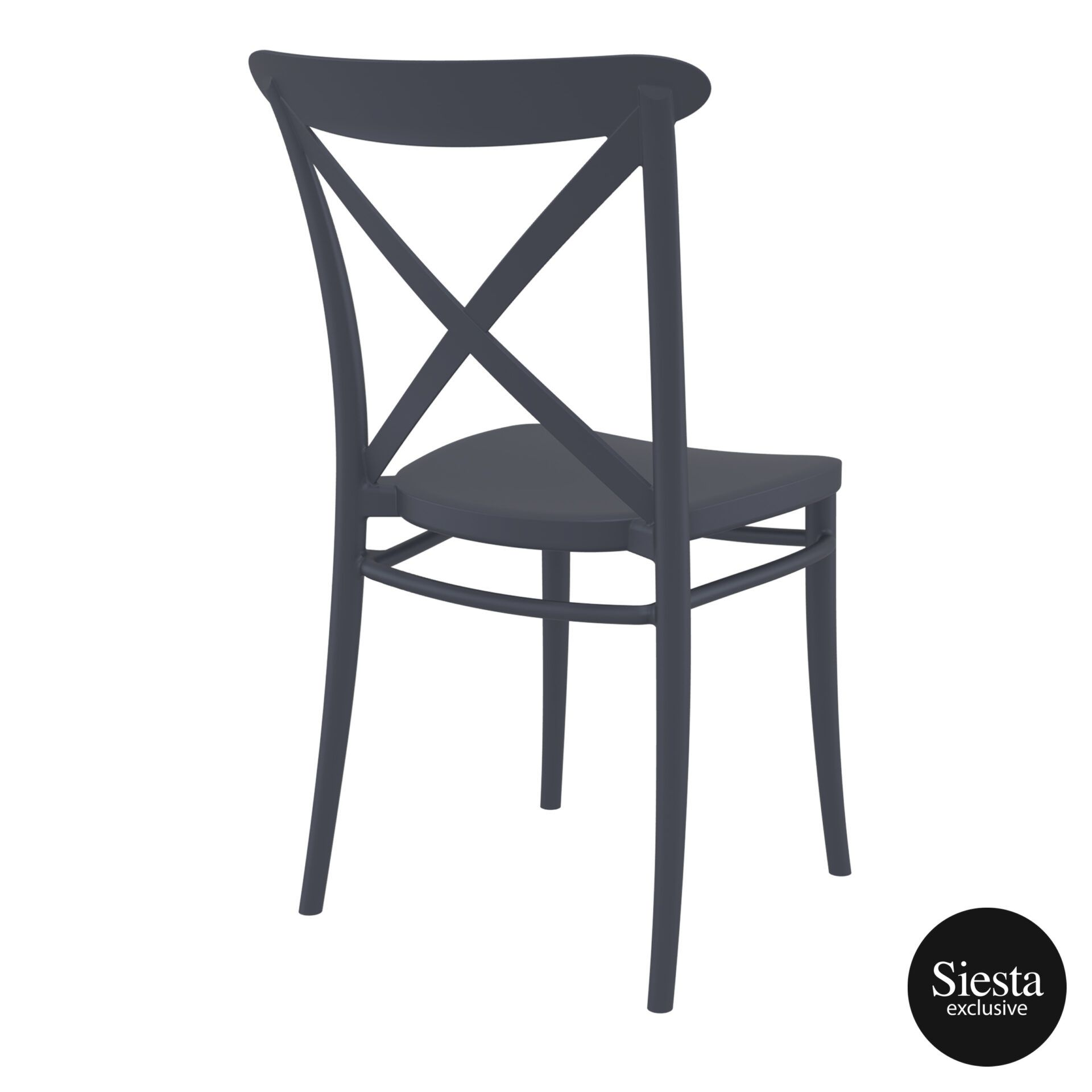 cafe polypropylene cross chair darkgrey back side 1 2