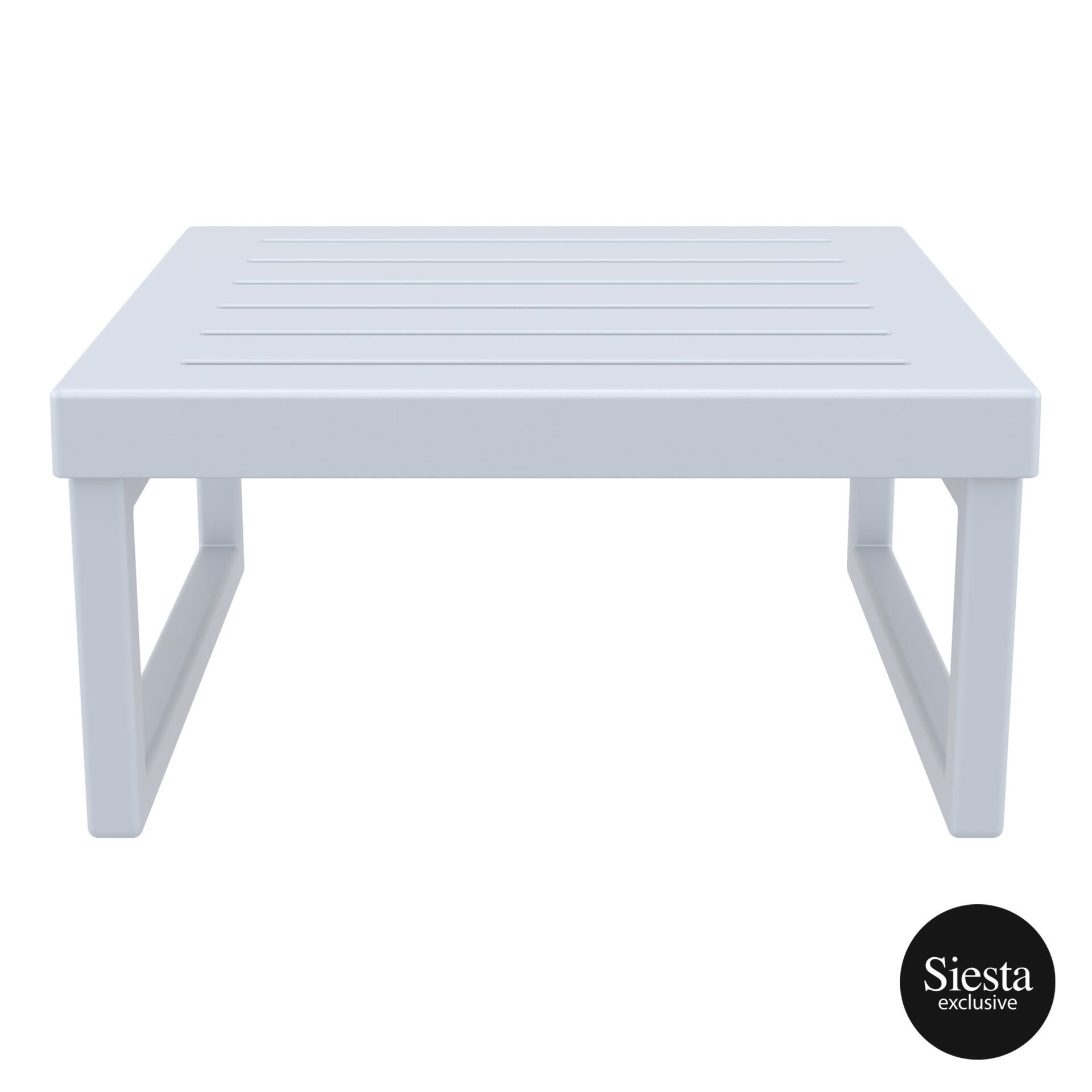 mykonos resort lounge table silvergrey front 2
