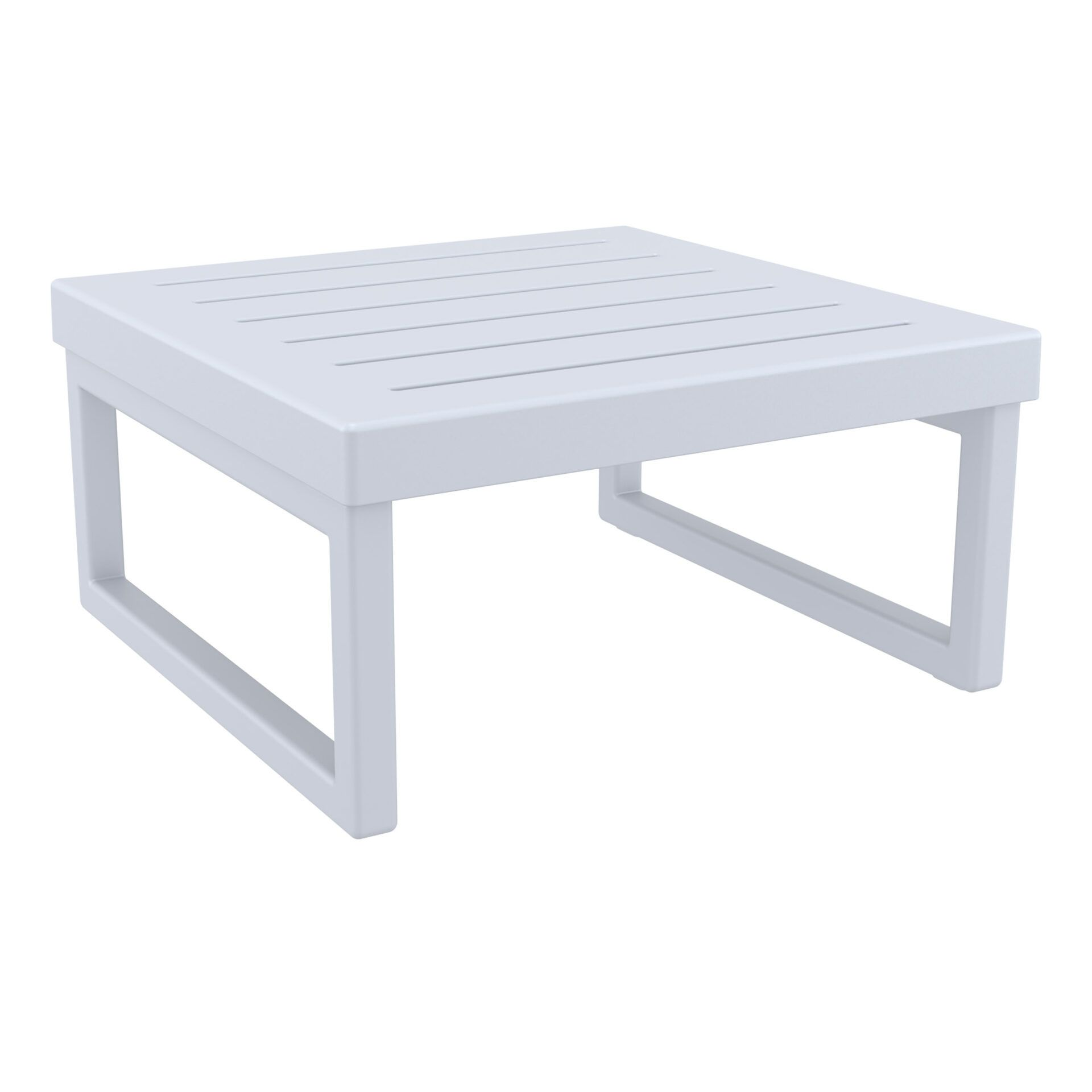 mykonos resort lounge table silvergrey front side