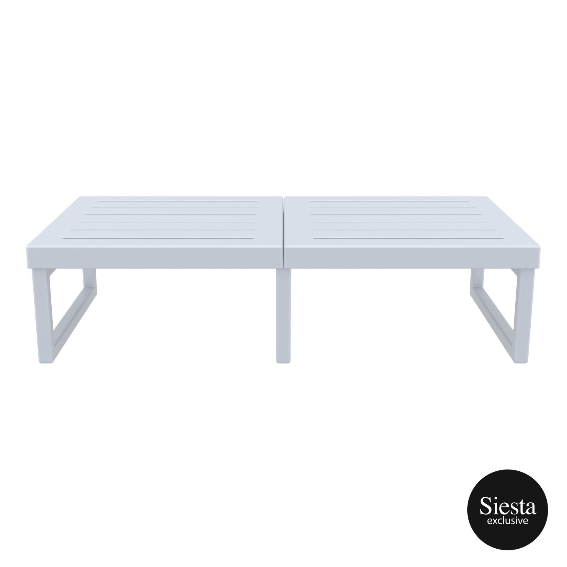 mykonos resort lounge table xl silvergrey front 2