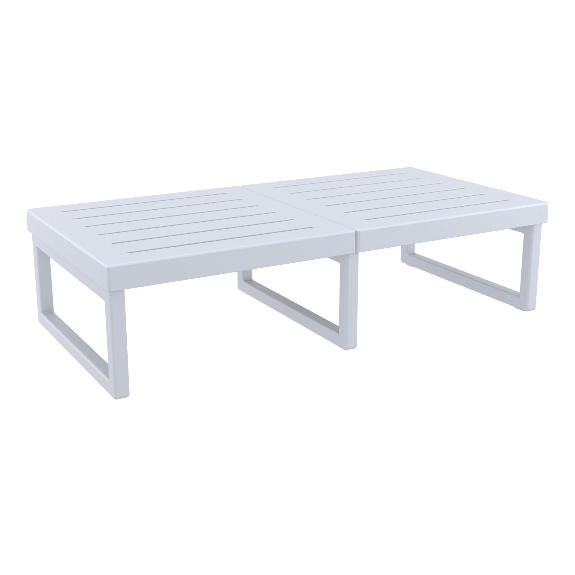 mykonos resort lounge table xl silvergrey front side 1