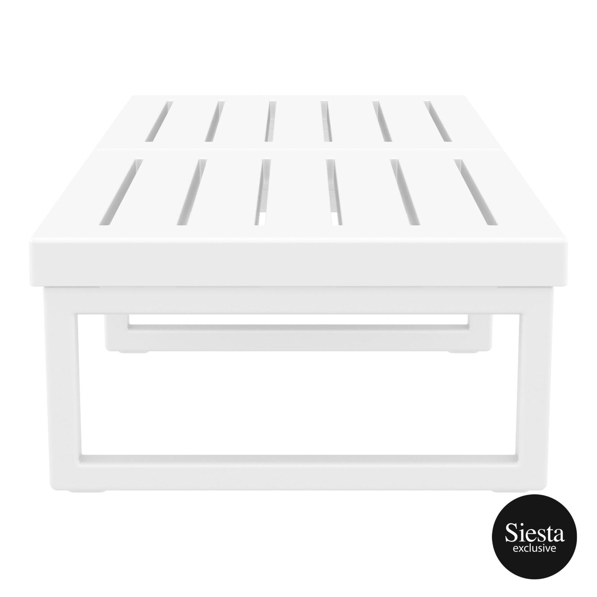 mykonos resort lounge table xl white side 2