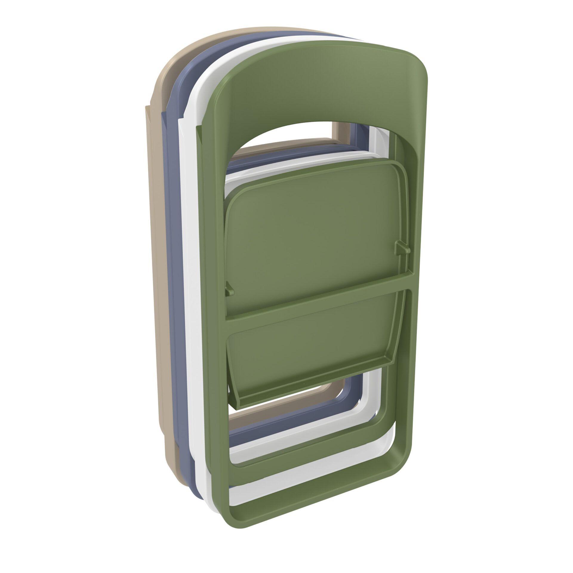 polypropylene dream folding chair stack 3