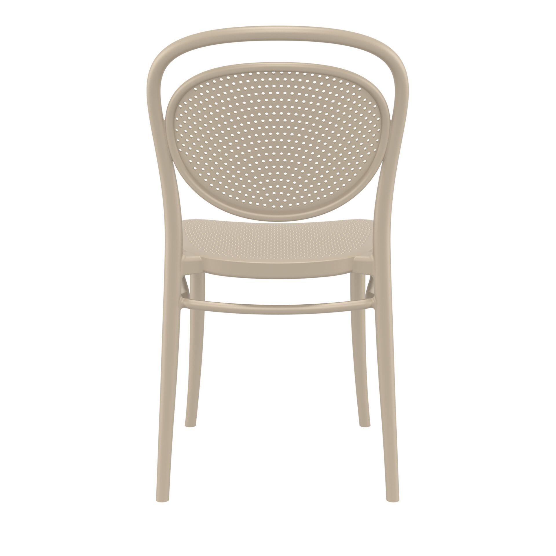 restaurant plastic dining marcel chair aupe back