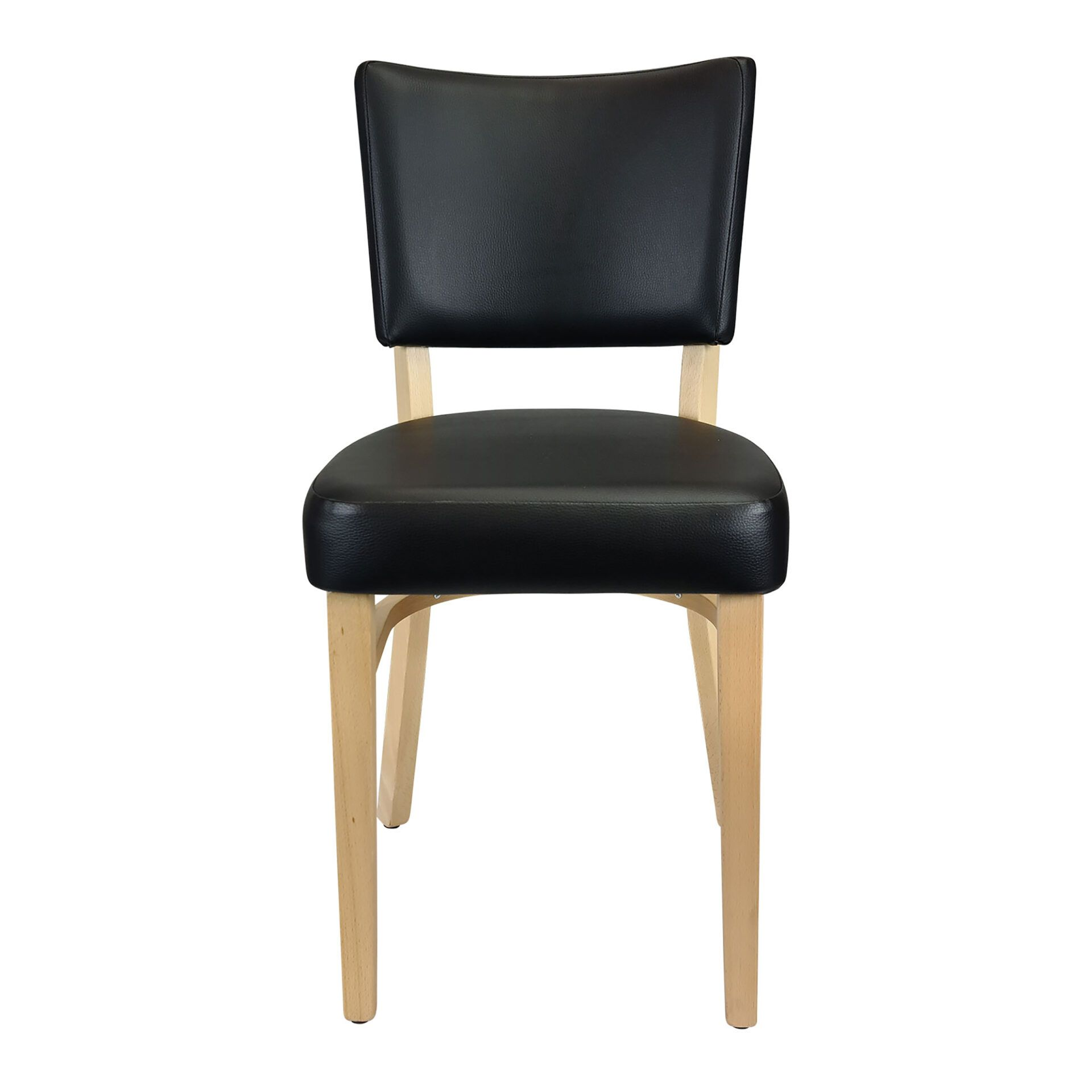 memphis chair natural front