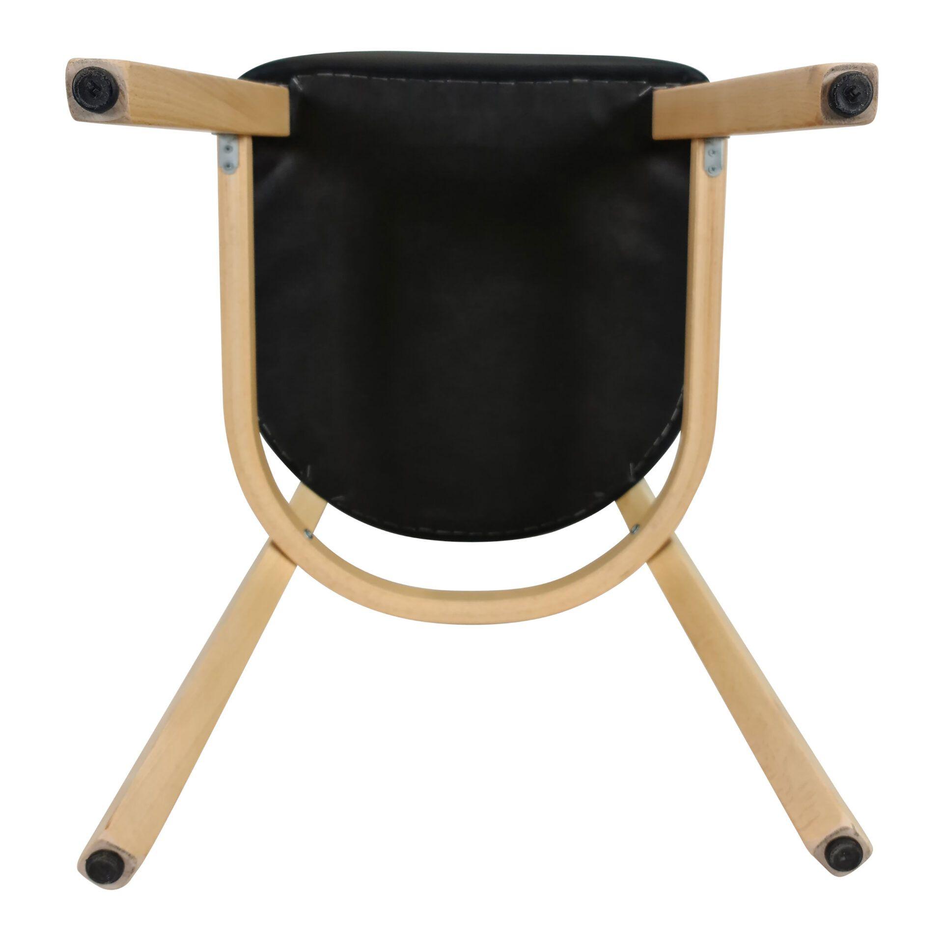 memphis chair natural underneath