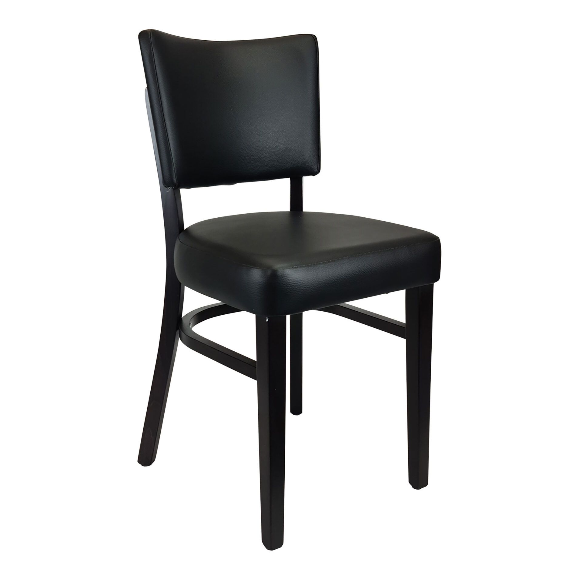 memphis chair wenge front side