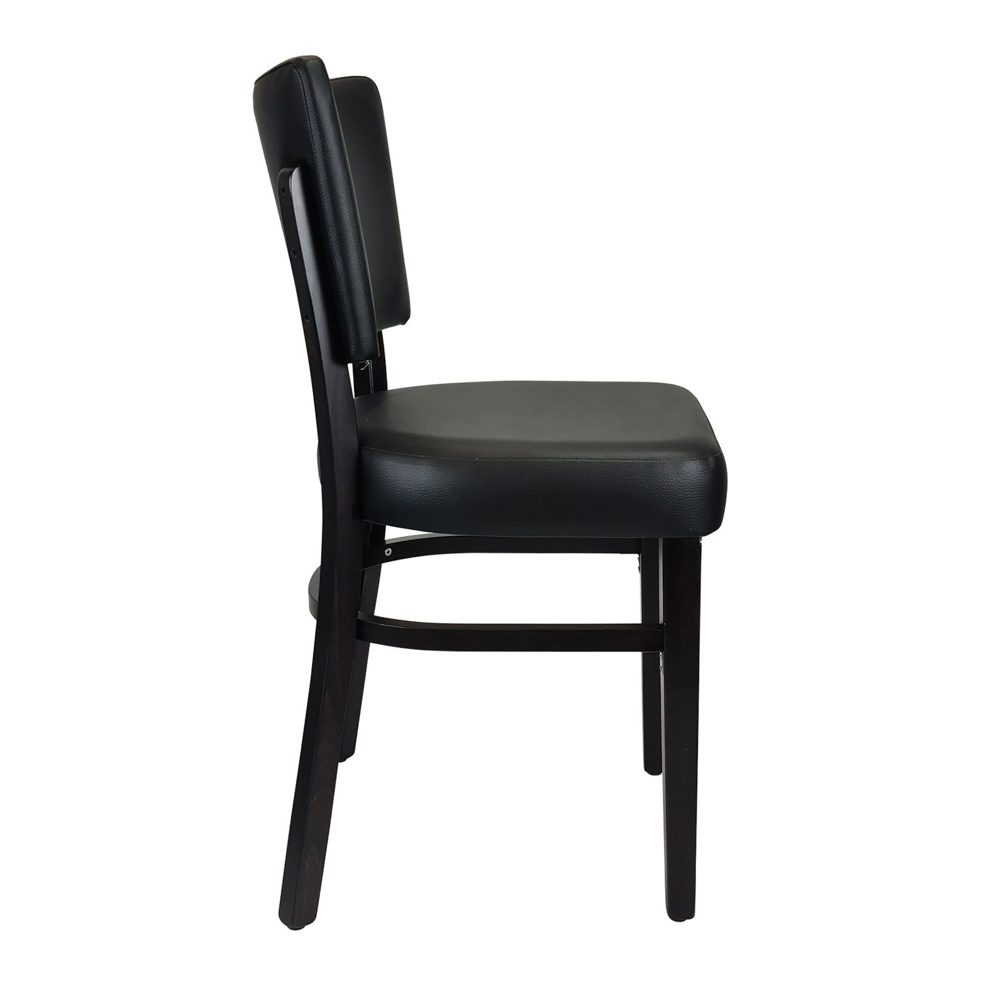 memphis chair wenge side
