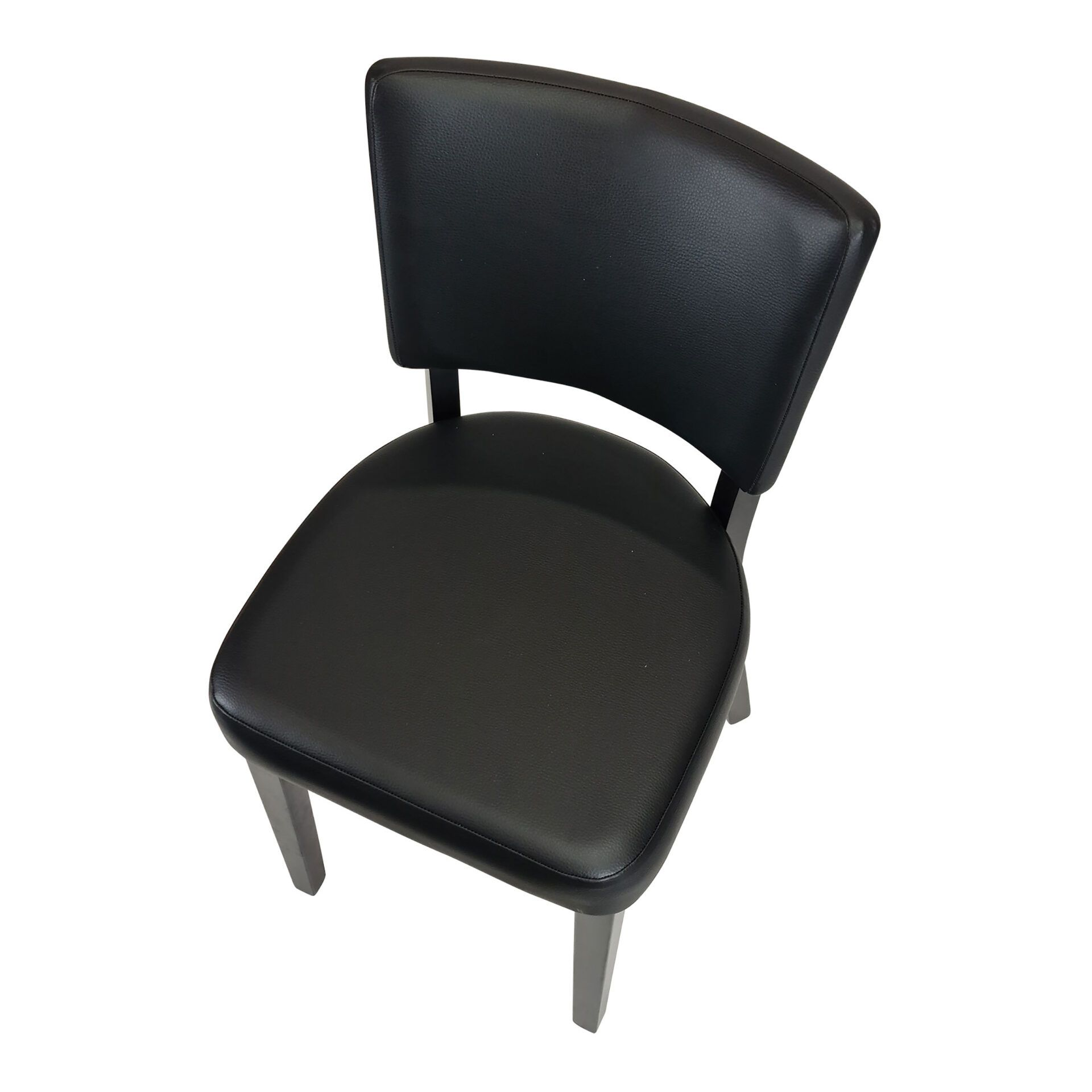 memphis chair wenge top angle
