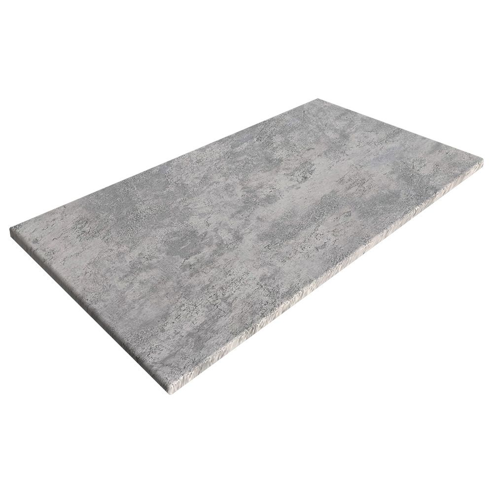 sm france rectangle table top concrete