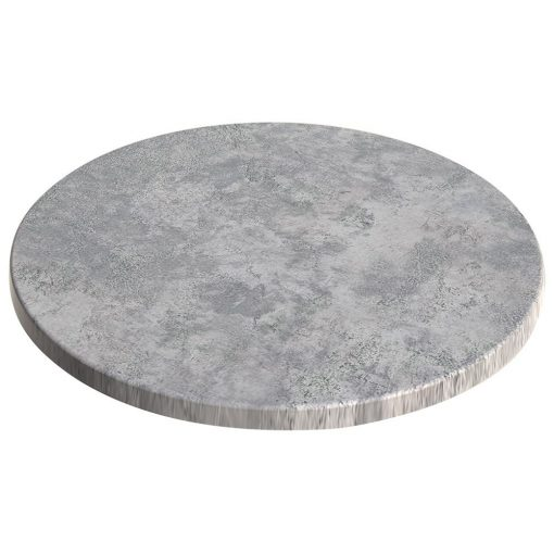 sm france round table top concrete